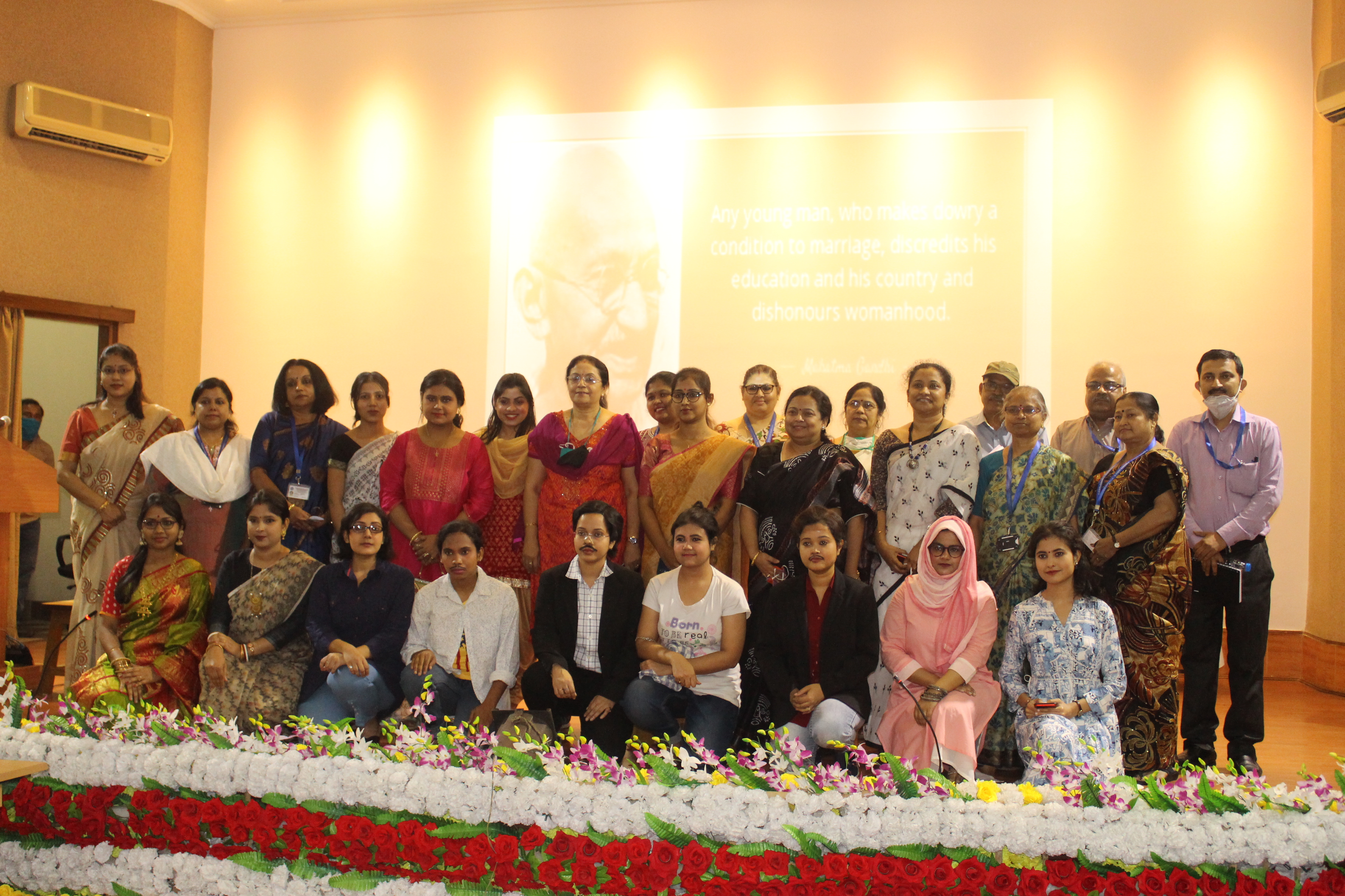 CSIR-CGCRI, Kolkata celebrated International Women's Day 2021 with an online lecture, Panel discussion and skits.