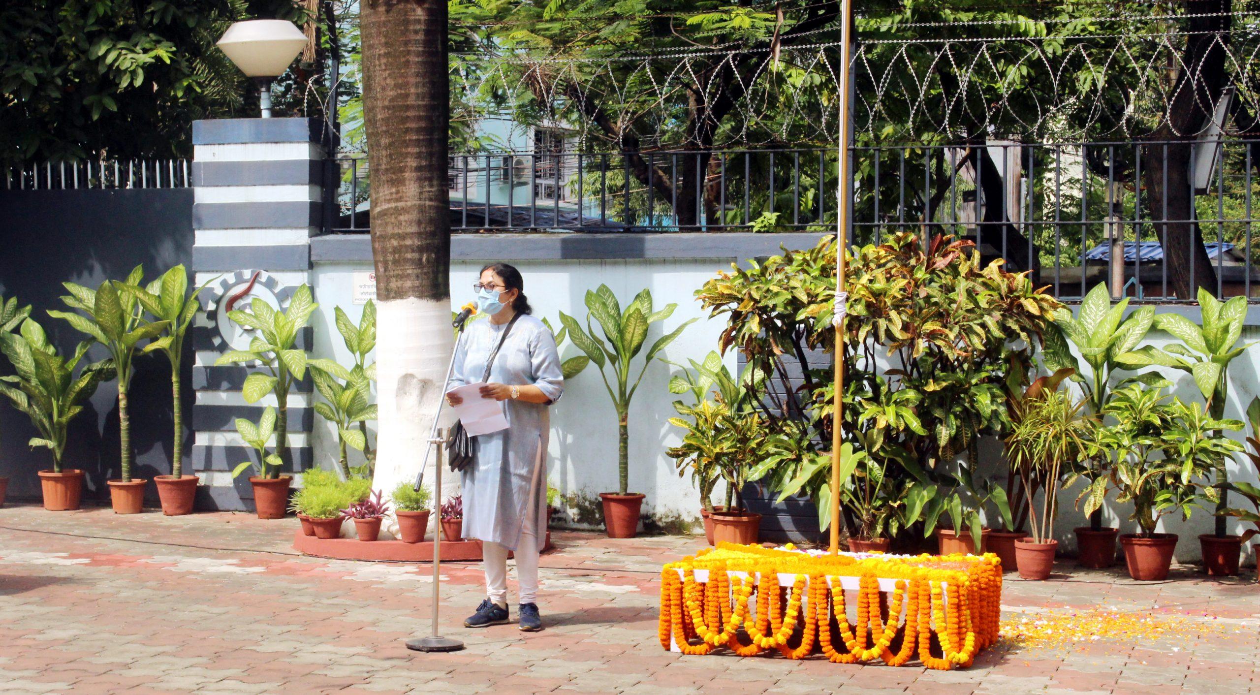 Independence Day Address by Director, CSIR-CGCRI