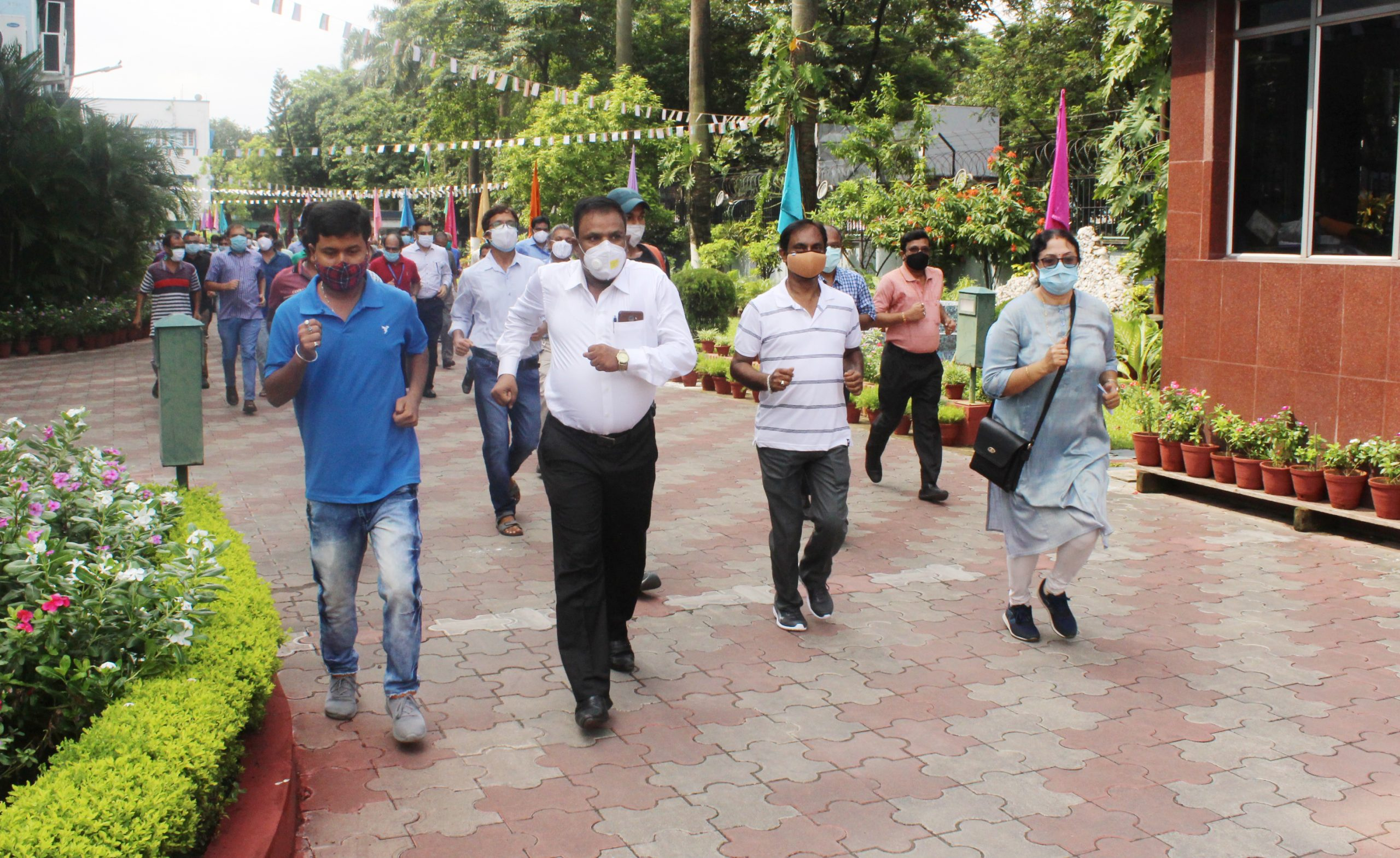 Celebration of 75th Independence Day at CSIR-CGCRI, Kolkata