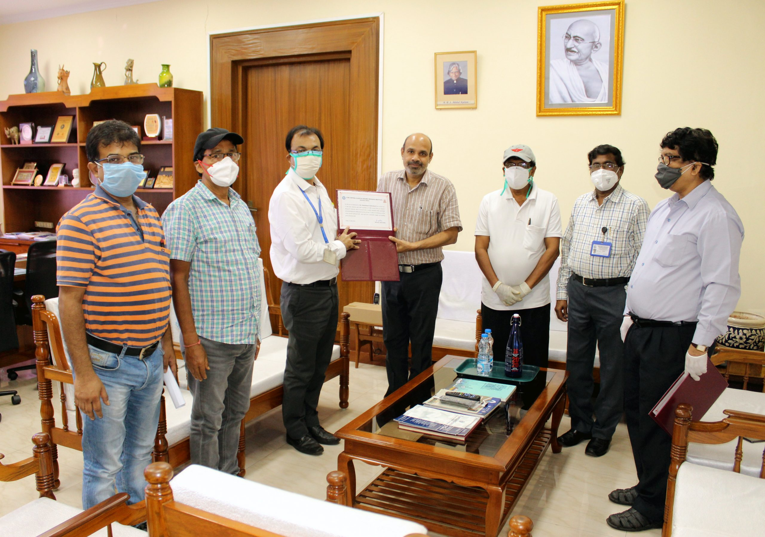 Farewell function at Director's Office on 28.08.2020