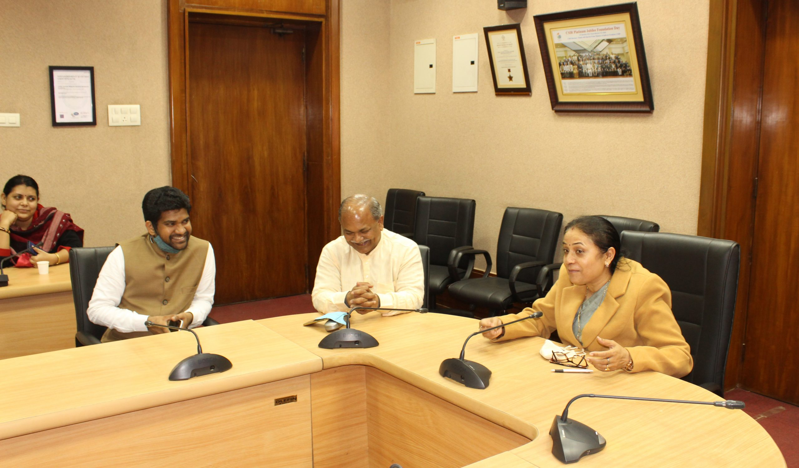 Visit and Felicitation of Shri Jayant Sahasrabudhe, National Organising Secretary and others of VIBHA