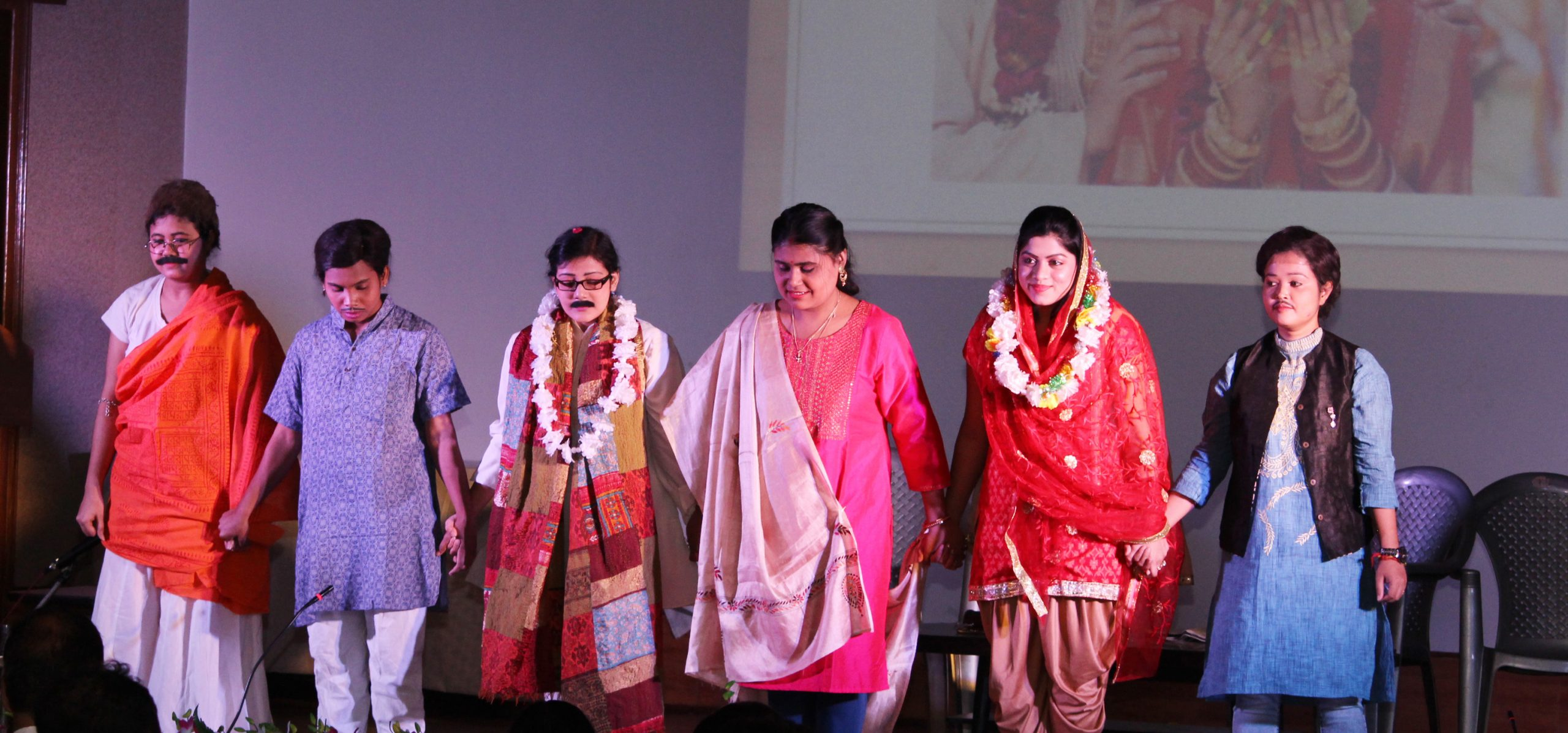 Skit by research students of CSIR-CGCRI