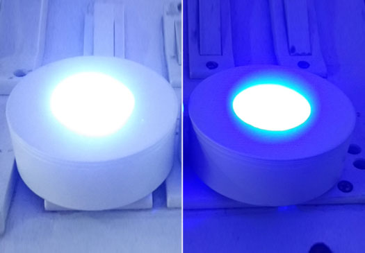 Ce3+:Y3Al5O12 (YAG) Phosphor-in-Glass (PiG) for High Color Rendering White LEDs