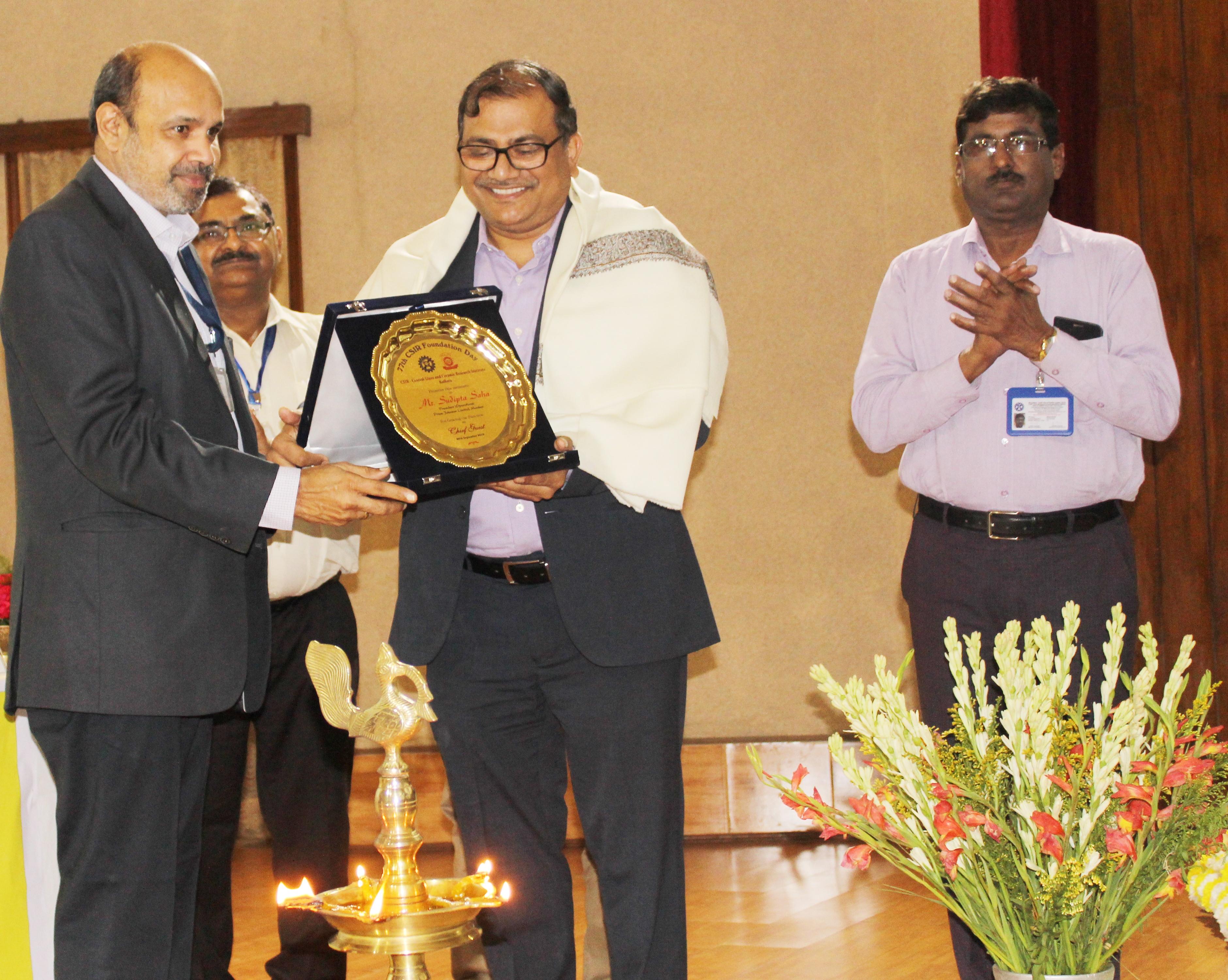 78th CSIR Foundation Day Celebration of CSIR - Felicitation of Shri Sudipta Saha, Chief Guest (2) - Copy