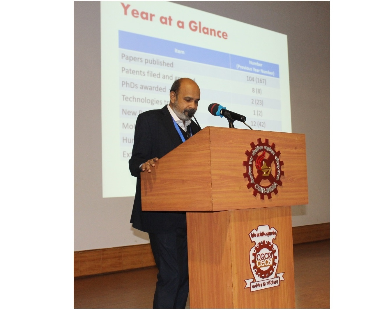 New Year Day address by Director, CSIR-CGCRI to the staff and students on 01.01.2020
