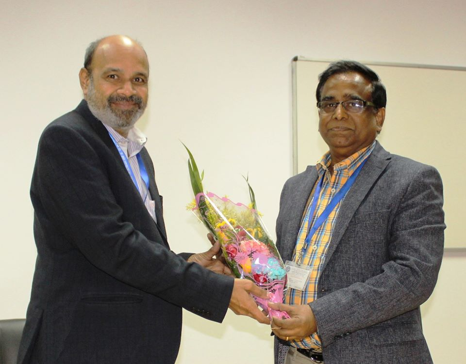 Superannuation of Dr. Rajendra Nath Basu, Chief Scientist from Council Service