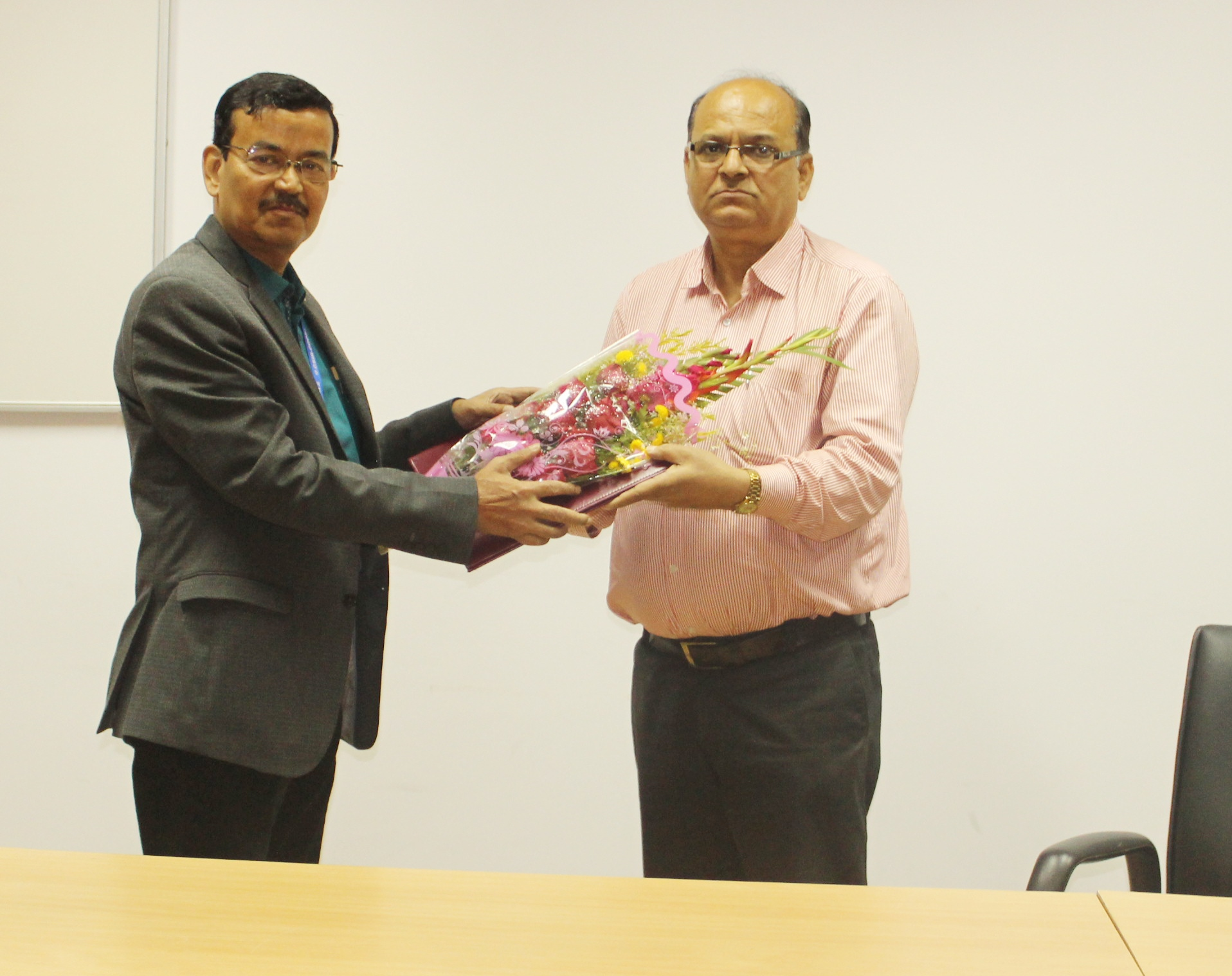 Superannuation of Shri Indra Kant Jha, Senior Technician(2) from Council Service on 31.01.2020