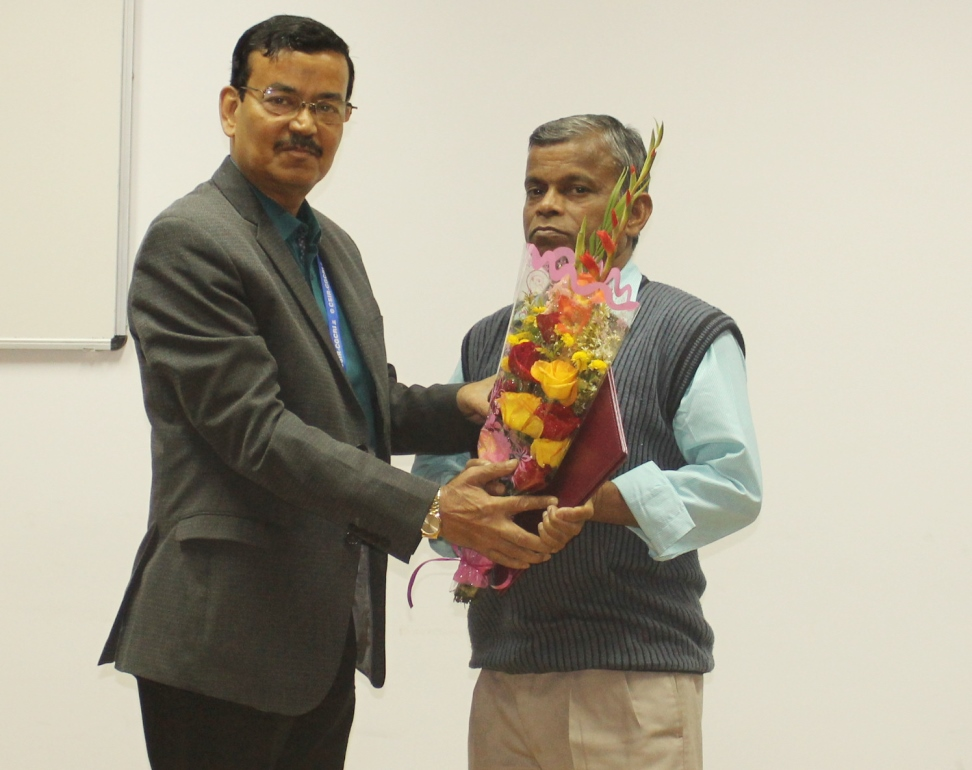 Superannuation of  Shri Susanta Kumar Sanpui, Laboratory Assistant from Council Service on 31.01.2020