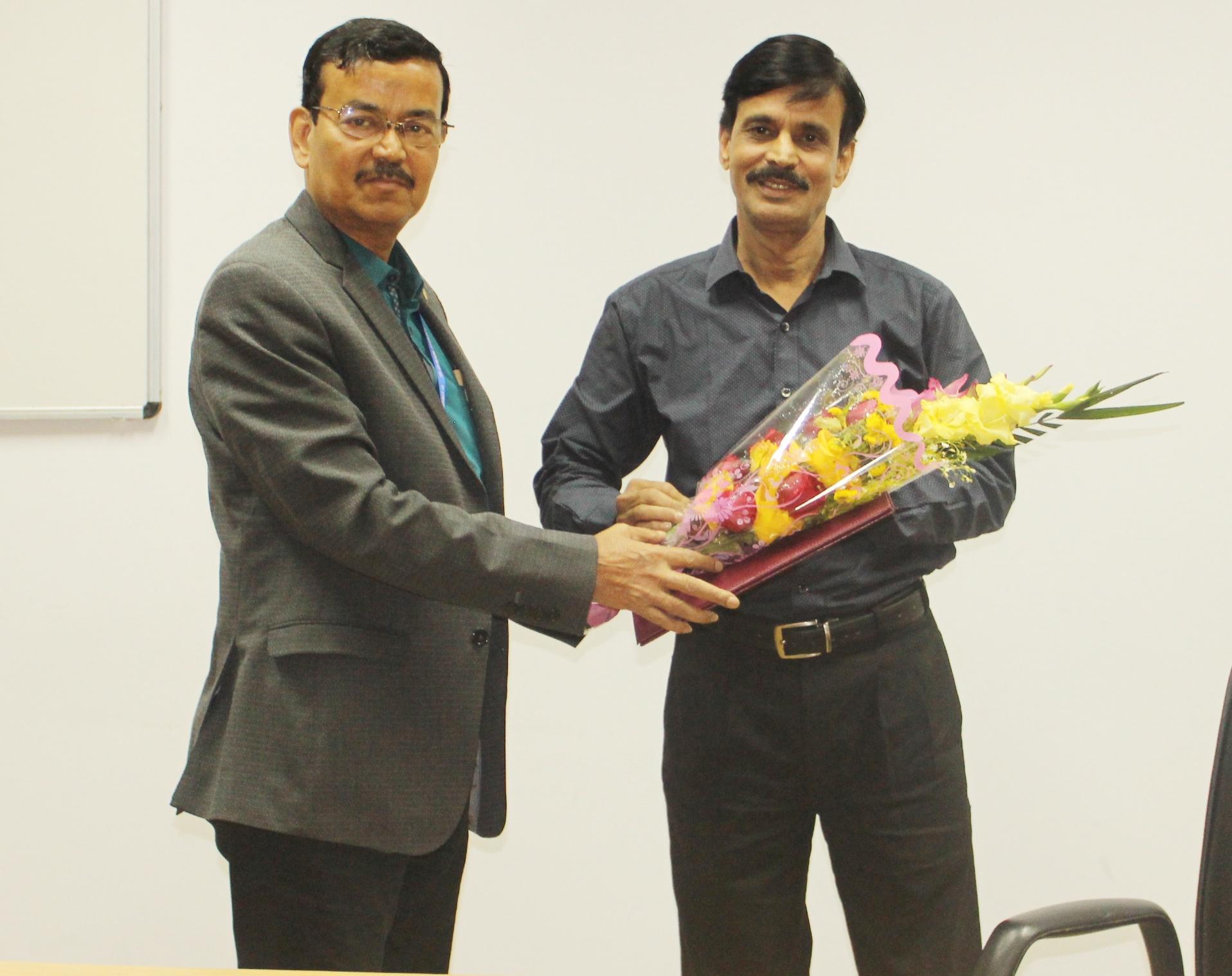 Superannuation of Shri Sukhendu Sekhar Mukhopadhyay, Principal Technical Officer from Council Service on 31.01.2020