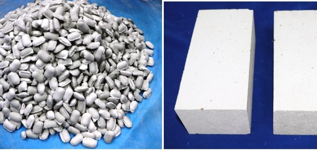Synthetic high alumina aggregates from sillimanite beach sand for refractory application